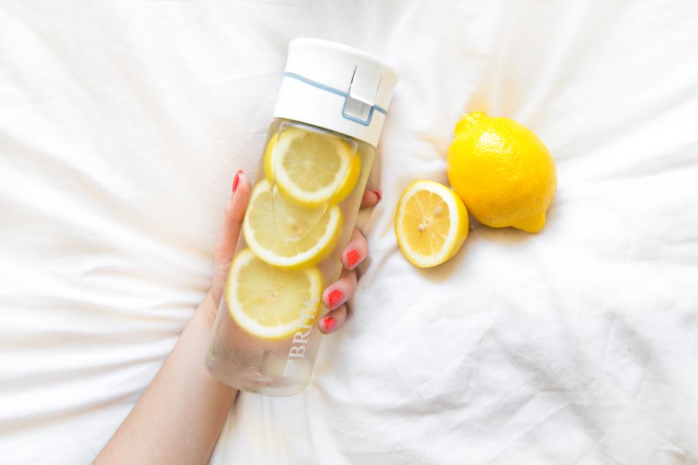 Limun voda, zdrave navike, zdraviji način života